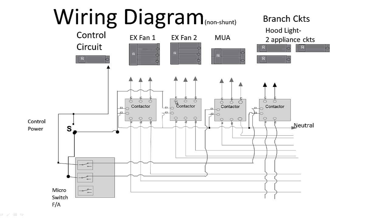 Commercial Kitchen Hood Wiring Diagrams | Wiring Diagram - Kitchen Wiring Diagram