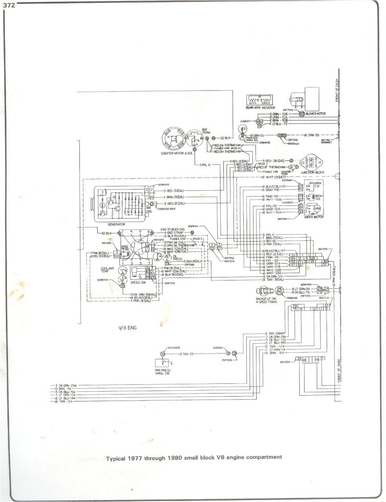 Complete 73 87 Wiring Diagrams   1988 Chevy Truck Wiring Diagram