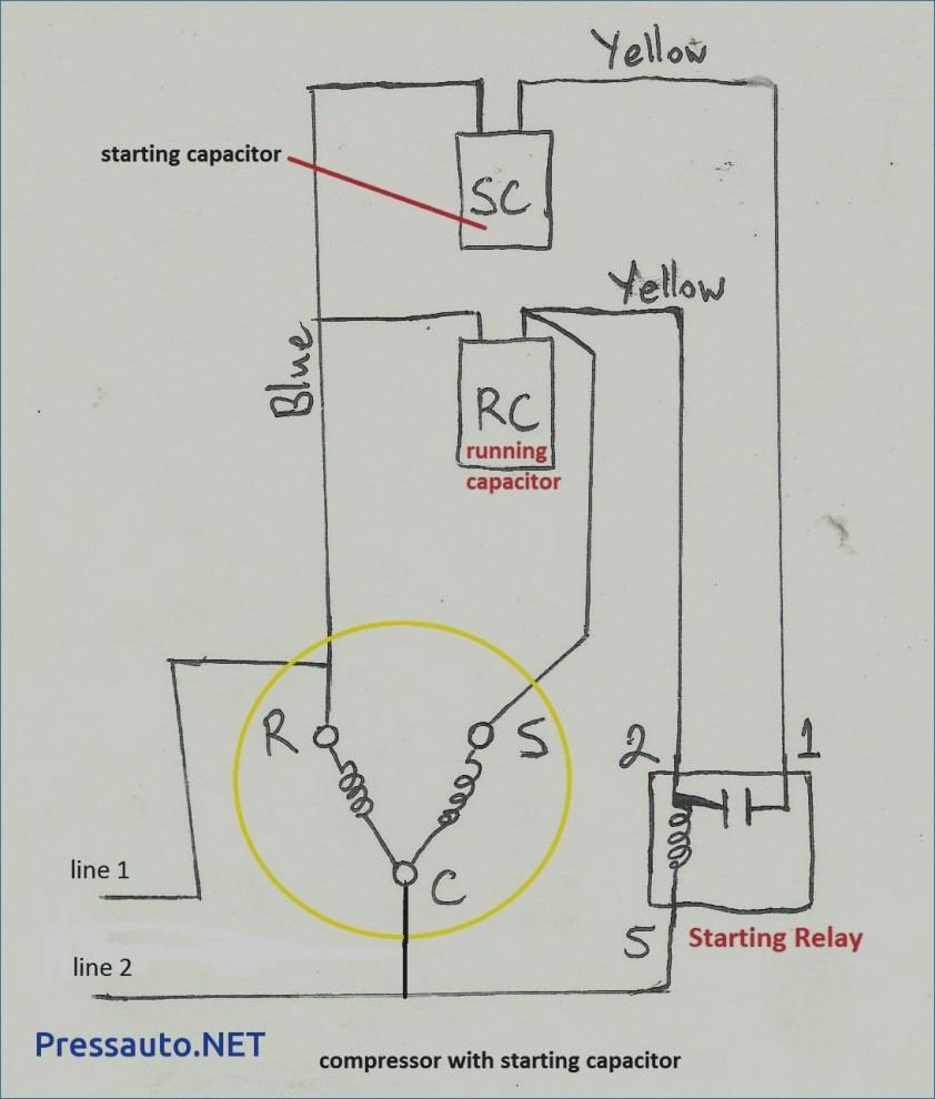Compressor Potential Relay Wiring Diagram | Wiring Library - Potential Relay Wiring Diagram