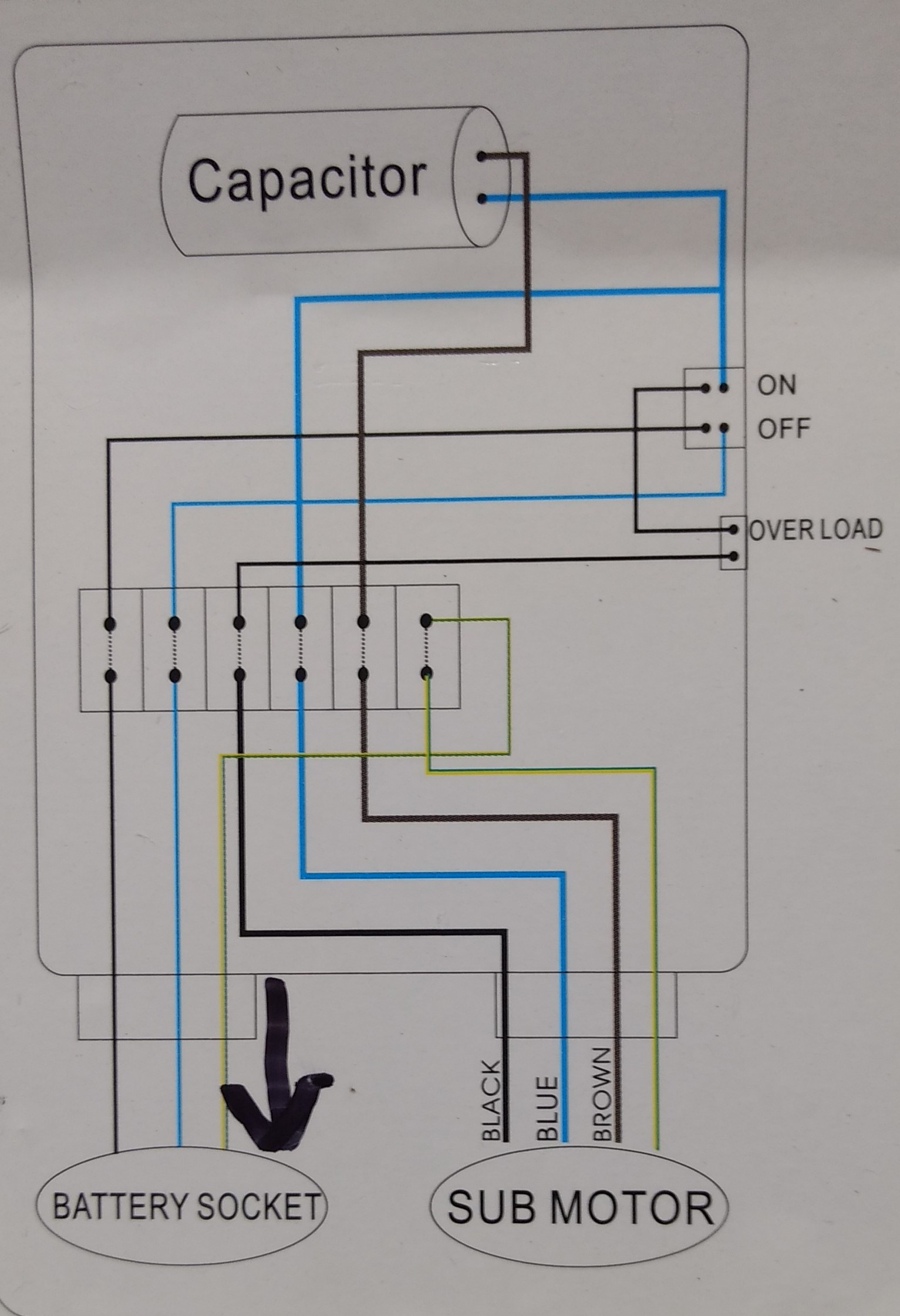 Control Box Wiring - Wiring Diagram Data Oreo - Well Pump Control Box Wiring Diagram