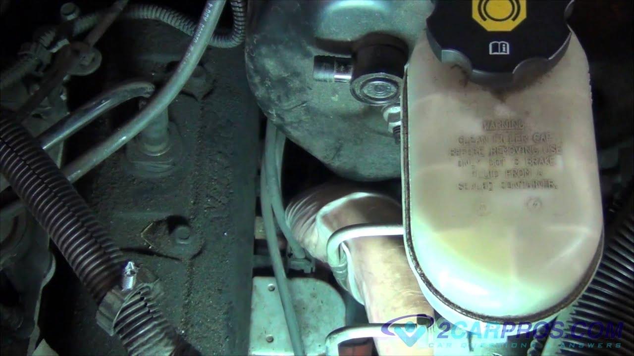 Coolant Temperature Sender Replacement Chevrolet Blazer 1995-2005 - 4.3 Vortec Wiring Diagram
