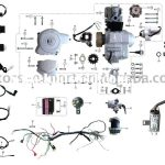 Coolster 110Cc Atv Parts Furthermore 110Cc Pit Bike Engine Diagram – Briggs And Stratton 18 Hp Twin Wiring Diagram