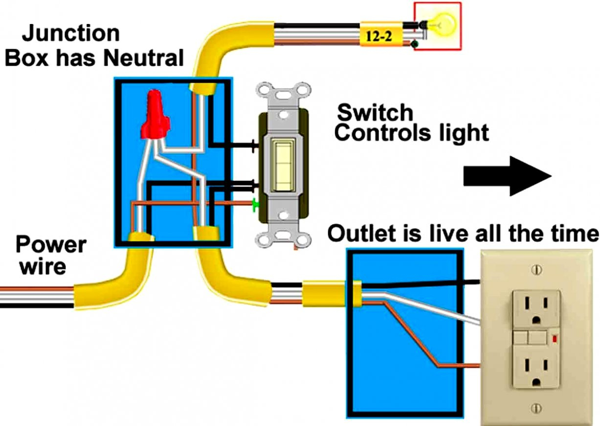 Cooper Receptacle Switch Wiring Diagram | Manual E-Books - Light Switch Outlet Combo Wiring Diagram