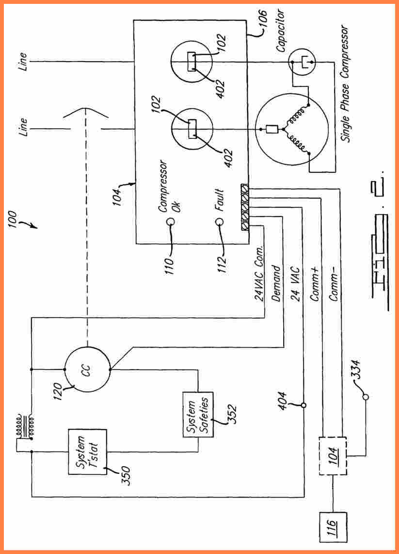 Copeland Wiring Diagrams - Wiring Data Diagram - Compressor Wiring Diagram Single Phase