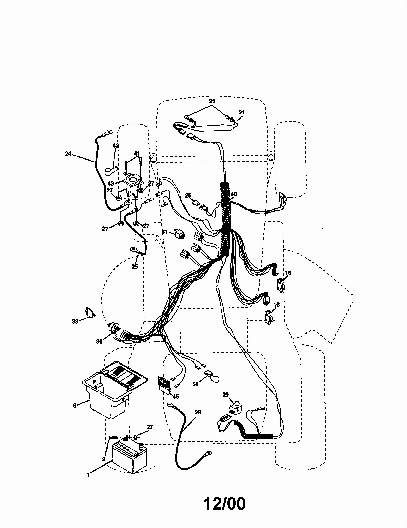 Craftsman Lt1000 Wiring Diagram | Wiring Library - Craftsman Model 917 Wiring Diagram