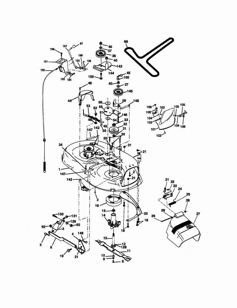 Craftsman Model 917 Wiring Diagram - Simple Wiring Diagram - Craftsman Lawn Mower Model 917 Wiring Diagram