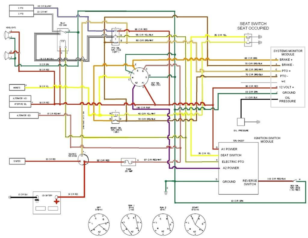Craftsman Pto Switch Wiring Diagram | Hastalavista - Pto Switch Wiring Diagram
