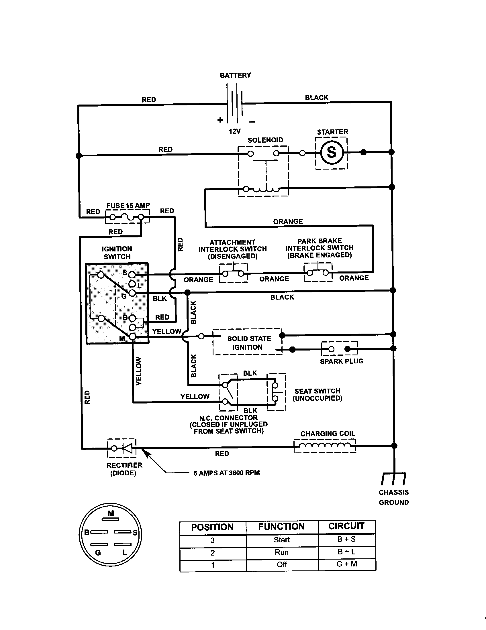 Craftsman Riding Mower Electrical Diagram | Pictures Of Craftsman - Briggs And Stratton V Twin Wiring Diagram