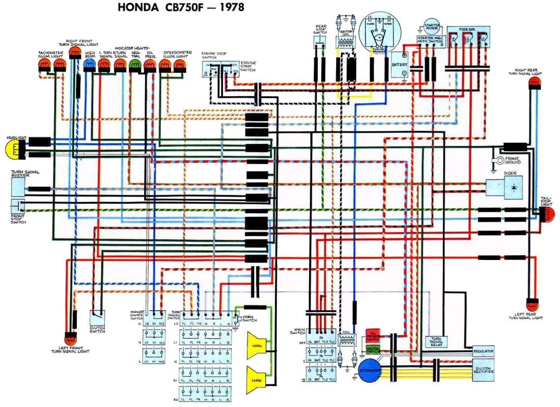 """Dan's Motorcycle """"wiring Diagrams"""" - Honda Motorcycle Wiring Diagram"""