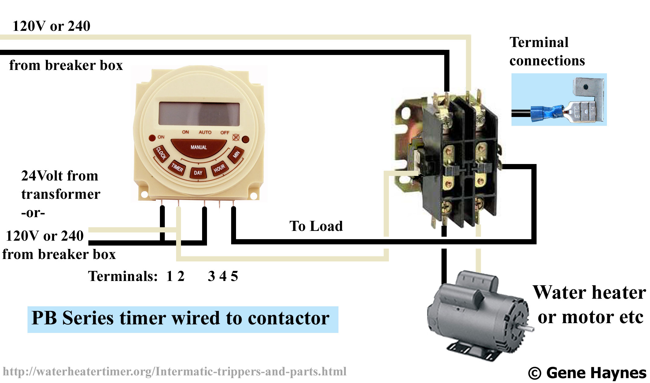 Dc Contactor Wiring | Wiring Diagram - 24 Volt Transformer Wiring Diagram