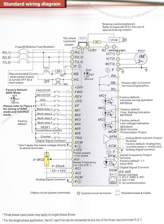 Delta Vfd B Series Standard Wiring Diagram Philippines - Vfd Wiring Diagram