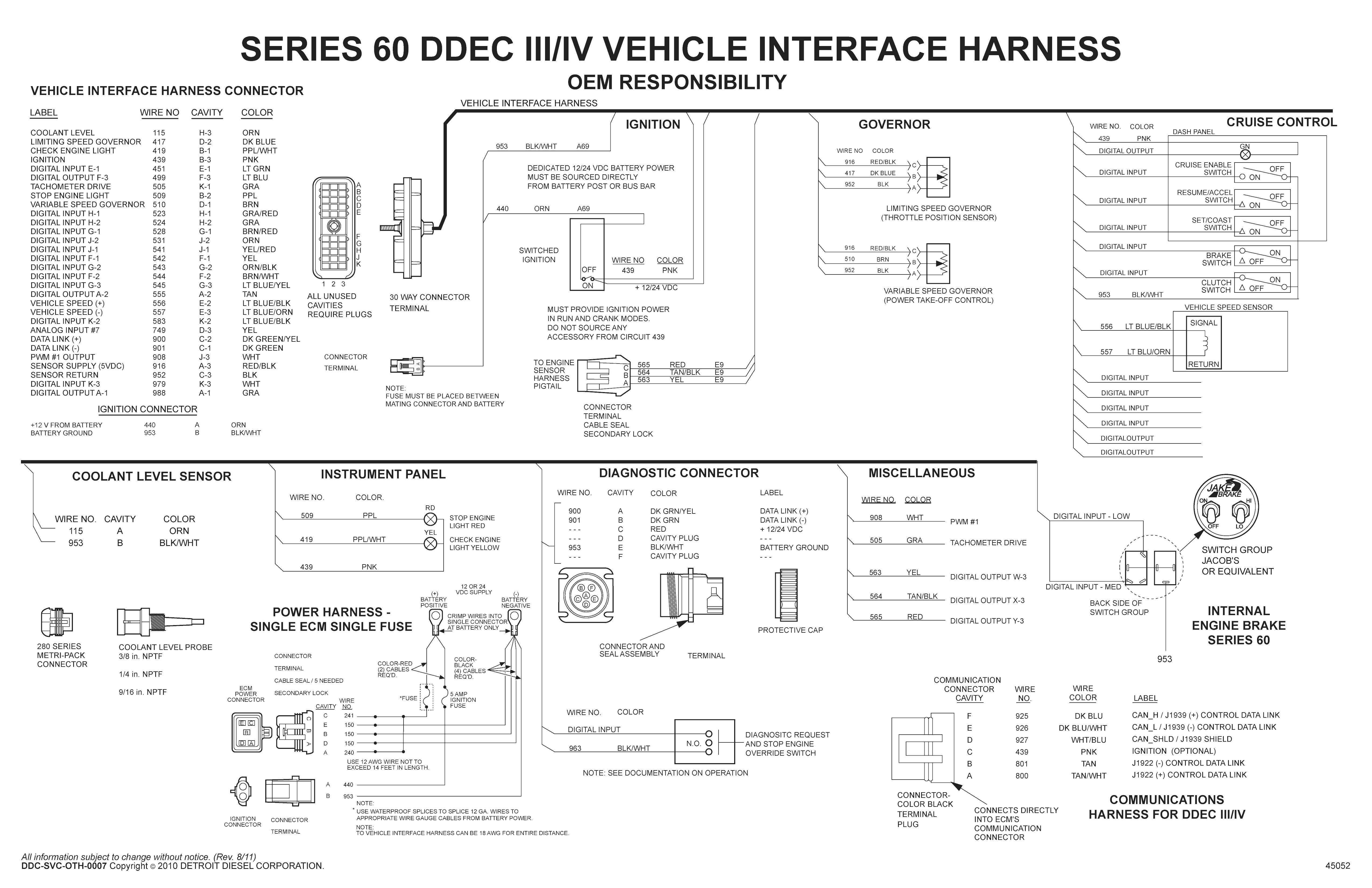 Detroit Diesel Series 60 Ecm Wiring Diagram   Siri 60   Pinterest - Detroit Series 60 Ecm Wiring Diagram