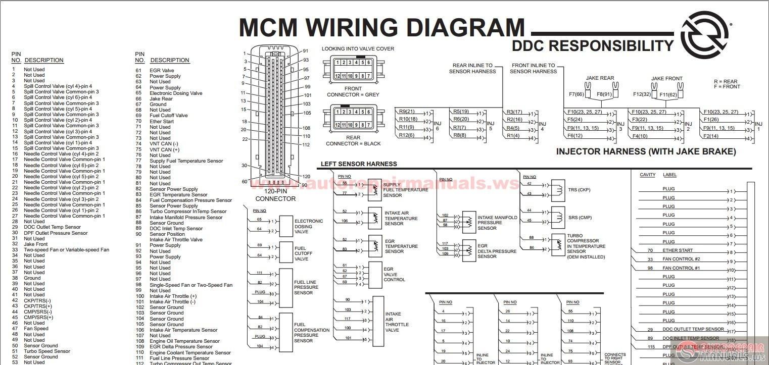 Detroit Series 60 Ecm Wiring Diagram   Manual E-Books - Detroit Series 60 Ecm Wiring Diagram