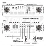 Diagrams Channel Amplifier Wiring Diagram Inside Amp Pleasing And   4 Channel Amp Wiring Diagram