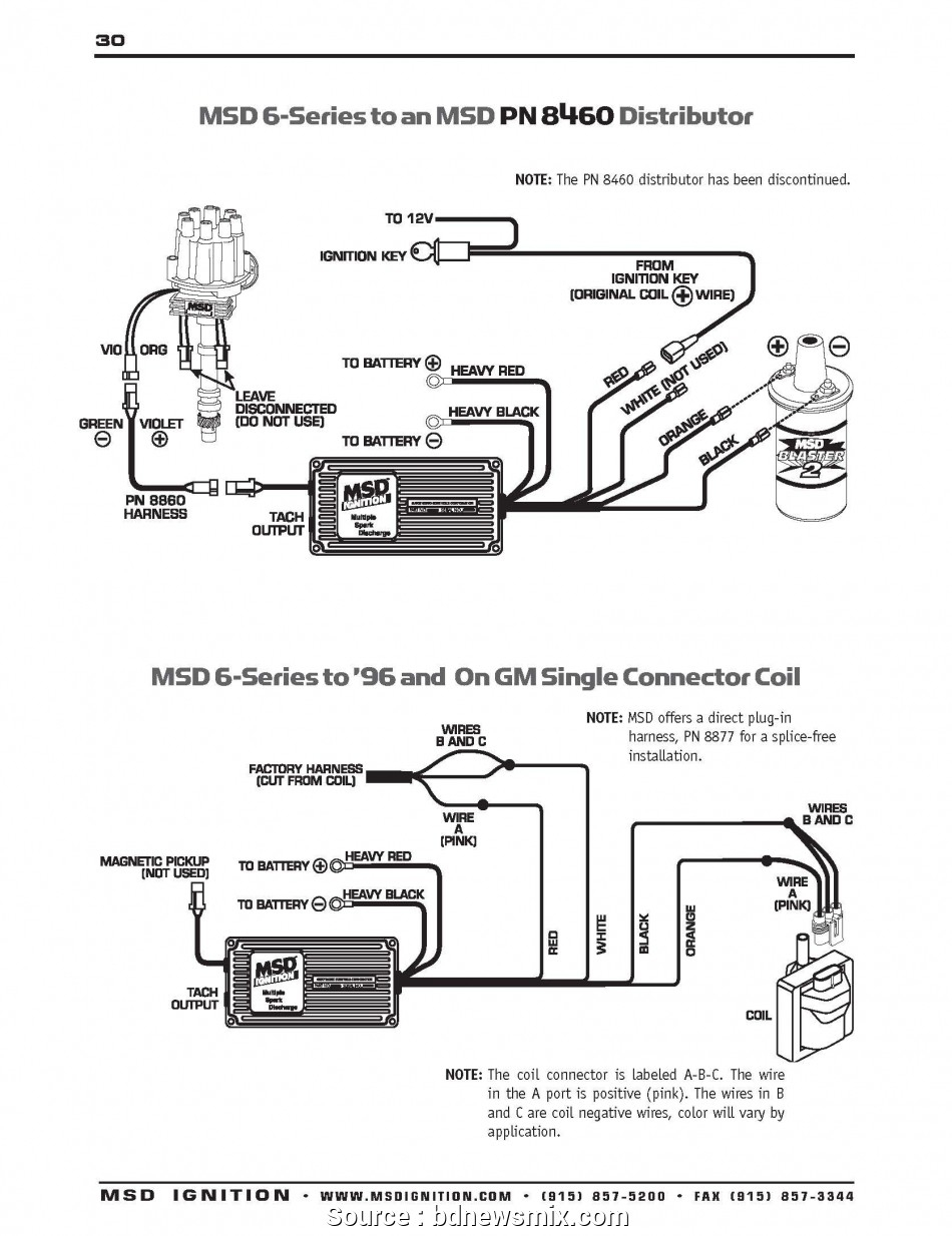 Tremendous Msd Ignition Wiring Diagrams 7531 Basic Electronics Wiring Diagram Wiring Database Obenzyuccorg