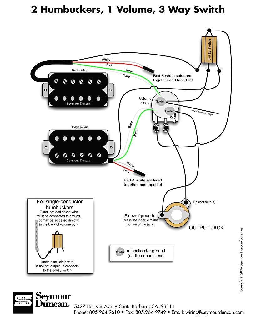 Dimarzio Pickup Wiring Diagram - Wiring Diagram Blog - Dimarzio Wiring Diagram