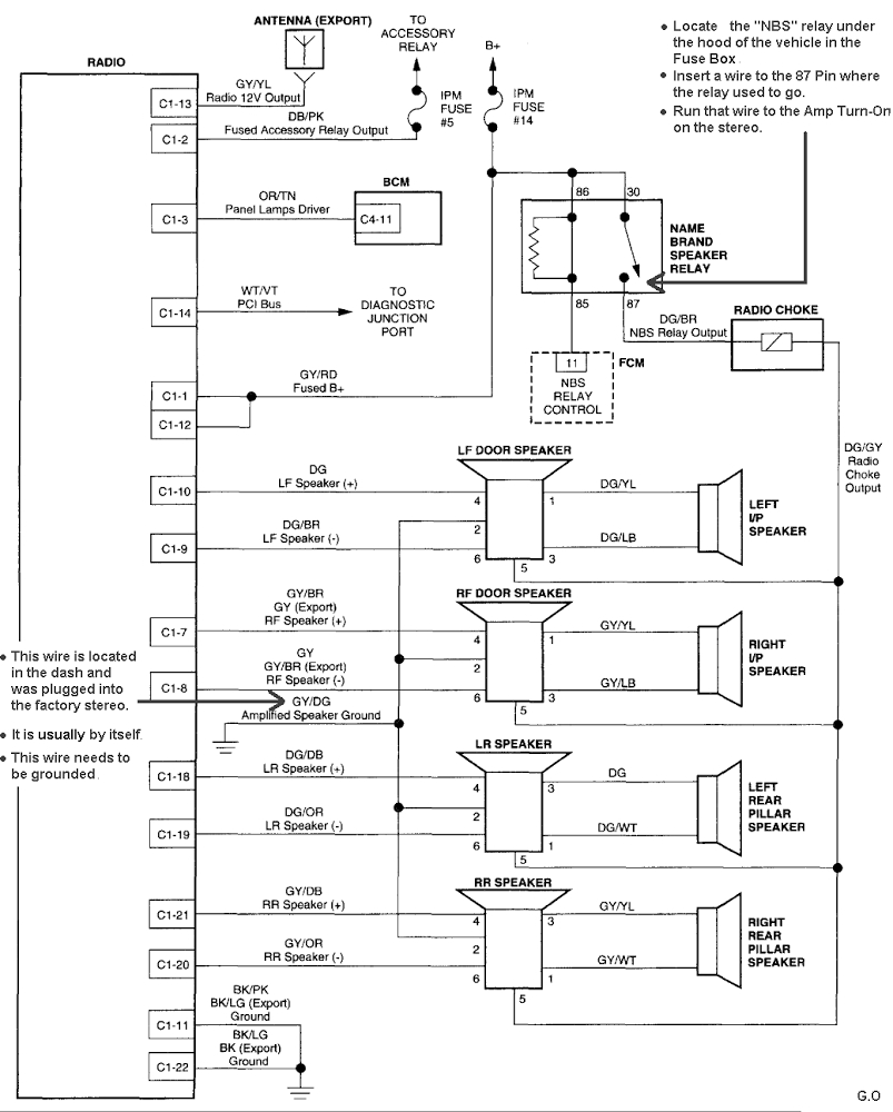 Dodge Caravan Starter Wiring | Wiring Library - 2003 Gmc Yukon Stereo Wiring Diagram