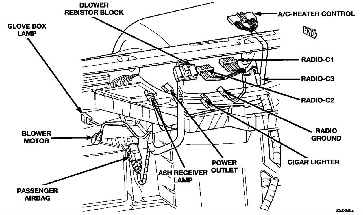 Dodge Dakota Wiring - Wiring Diagram Data Oreo - 2000 Dodge Dakota Wiring Diagram