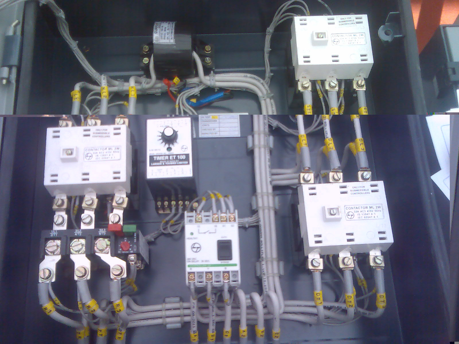 Dol Panel Diagram | Wiring Library - Square D Motor Starter Wiring Diagram