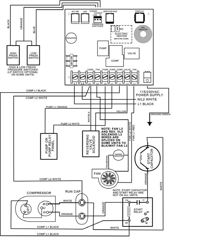 Goodman Ac Thermostat Wiring Diagram