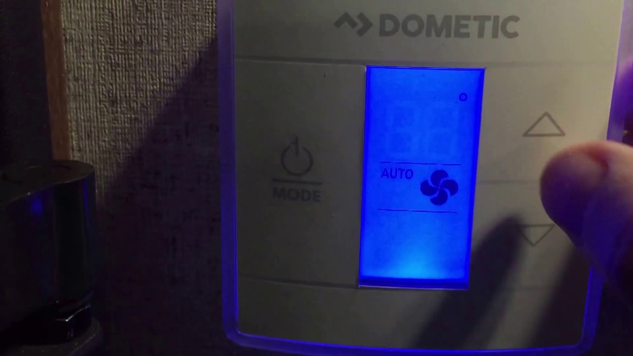 """Dometic Thermostat Operation - W/paul """"the Air Force Guy"""" - Youtube - Dometic Capacitive Touch Thermostat Wiring Diagram"""
