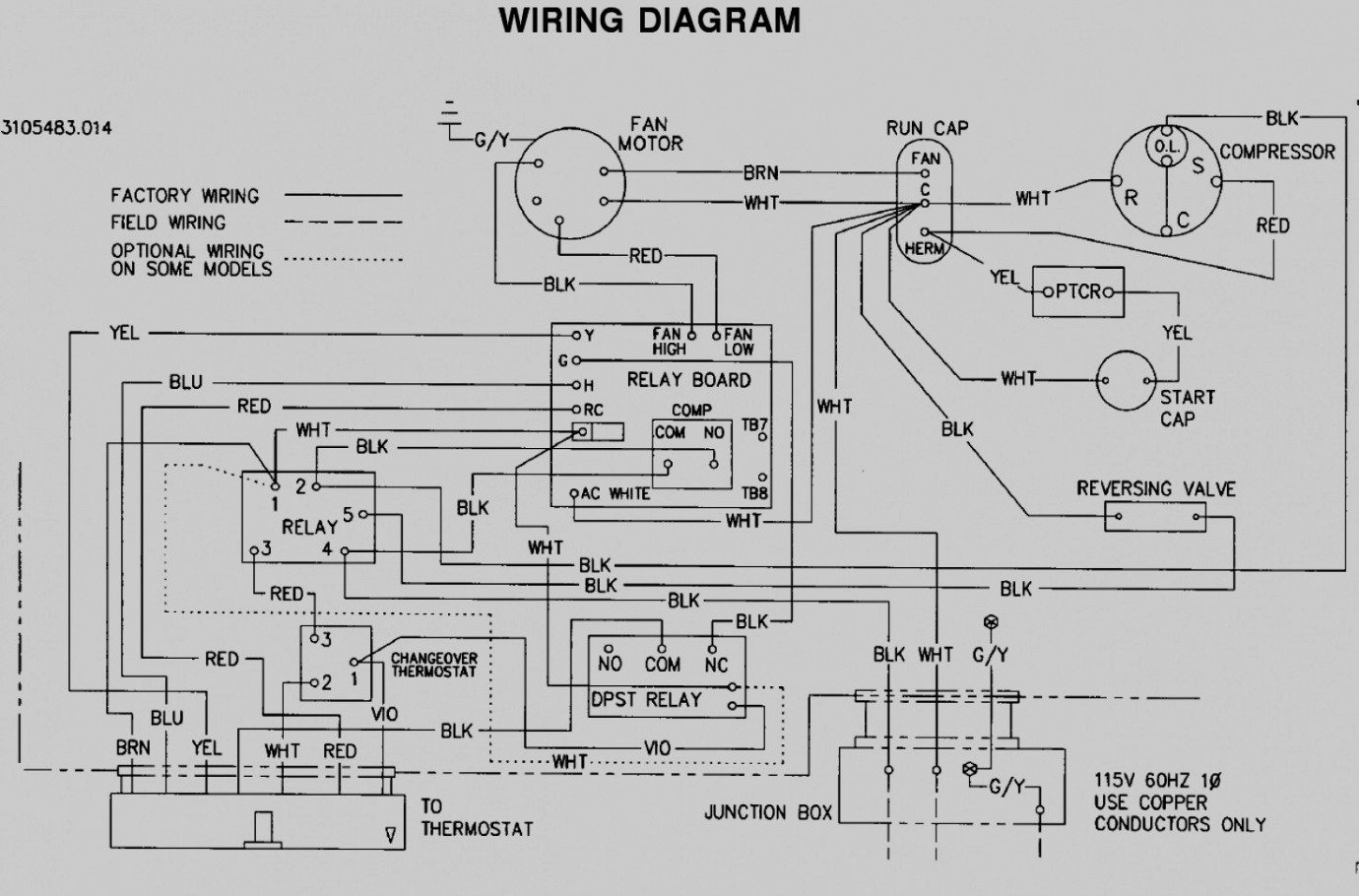 Dometic Thermostat Wiring Diagram | Manual E-Books - Dometic Rv Thermostat Wiring Diagram