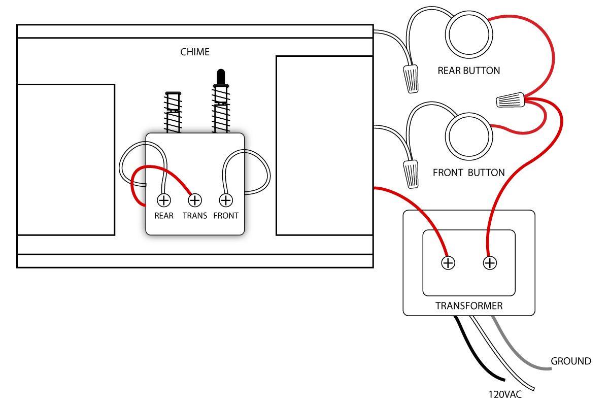 Doorbell Wiring Diagrams   Doorbell   Home Electrical Wiring, House - Doorbell Wiring Diagram Tutorial