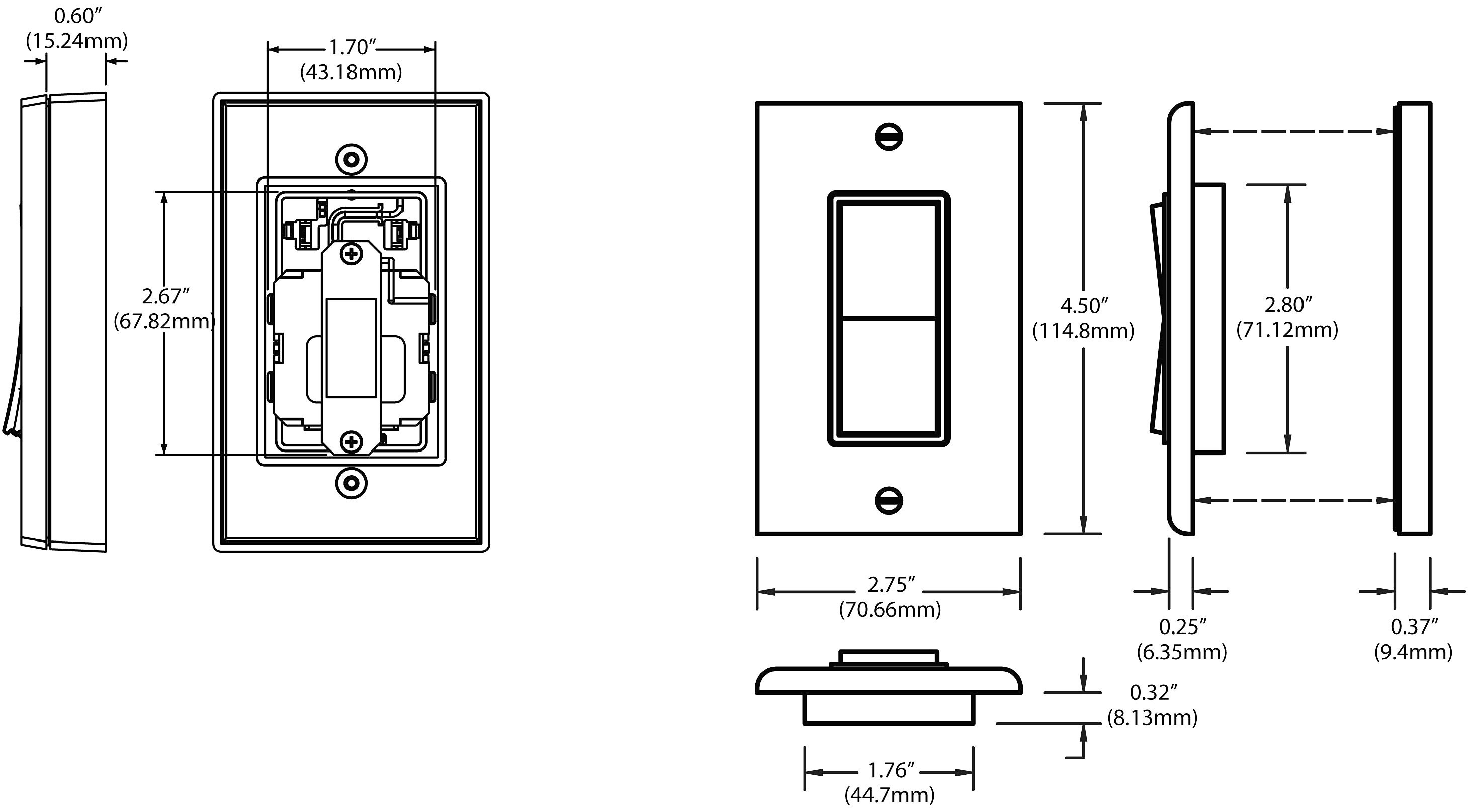 Way Switch Wiring Diagram Leviton on