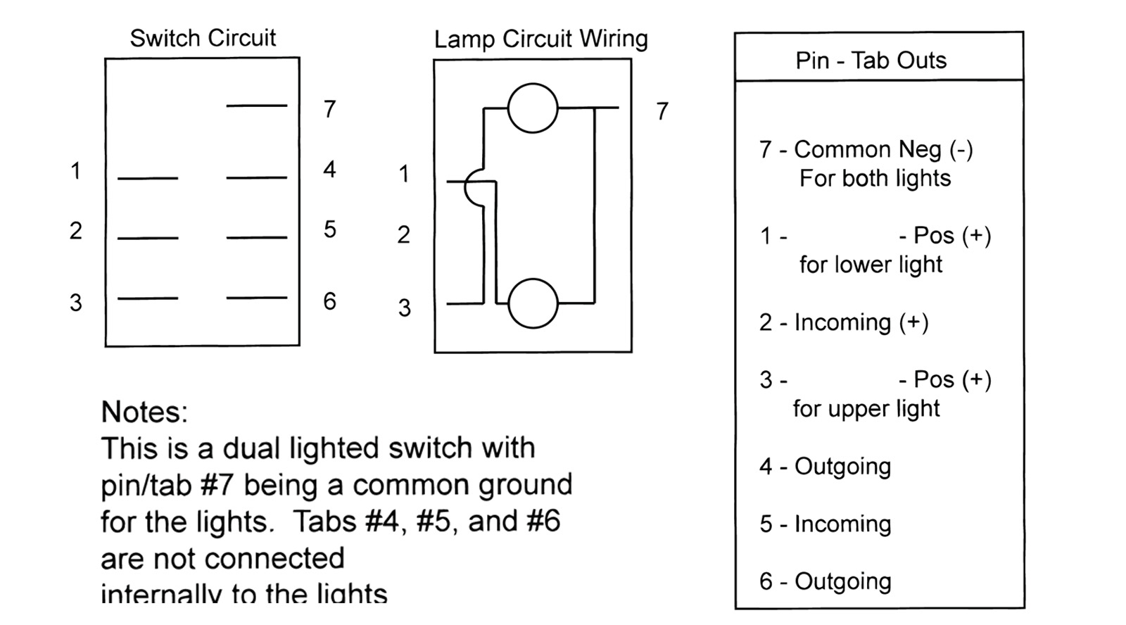 Double Rocker Switch Wiring Diagram | Wiring Library - Carling Switches Wiring Diagram