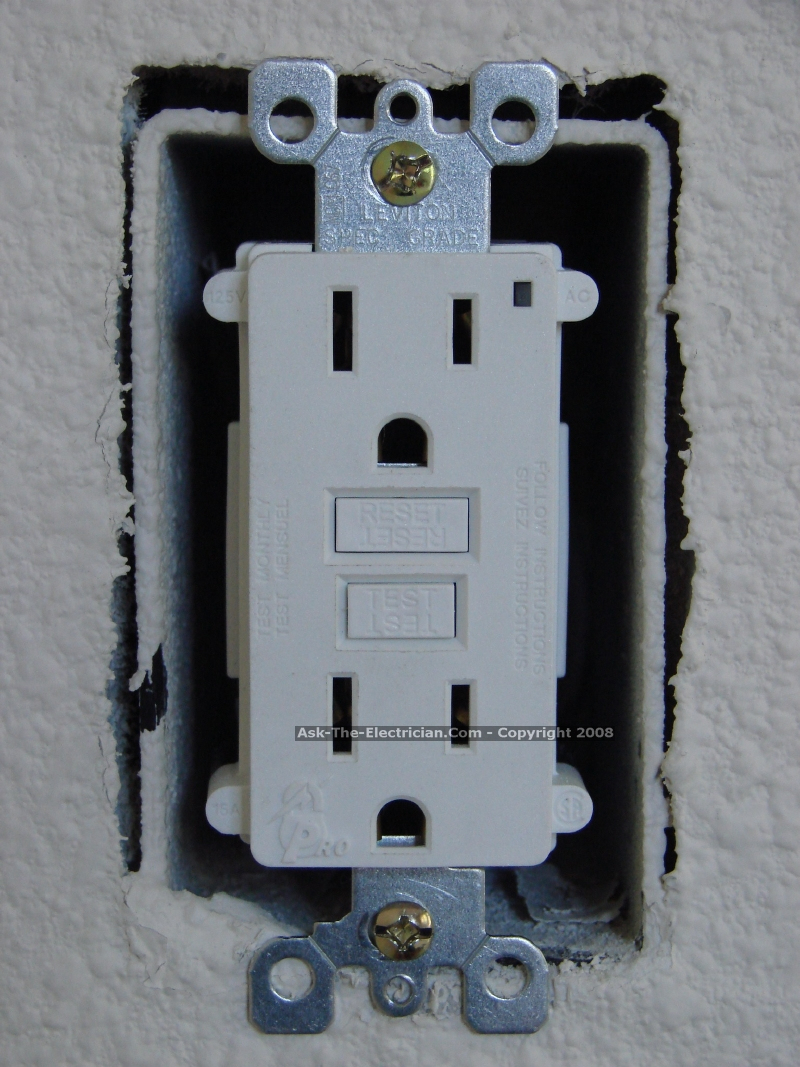 Double Wall Switch With Gfci Wiring Diagram | Wiring Diagram - Wiring A Gfci Outlet With A Light Switch Diagram
