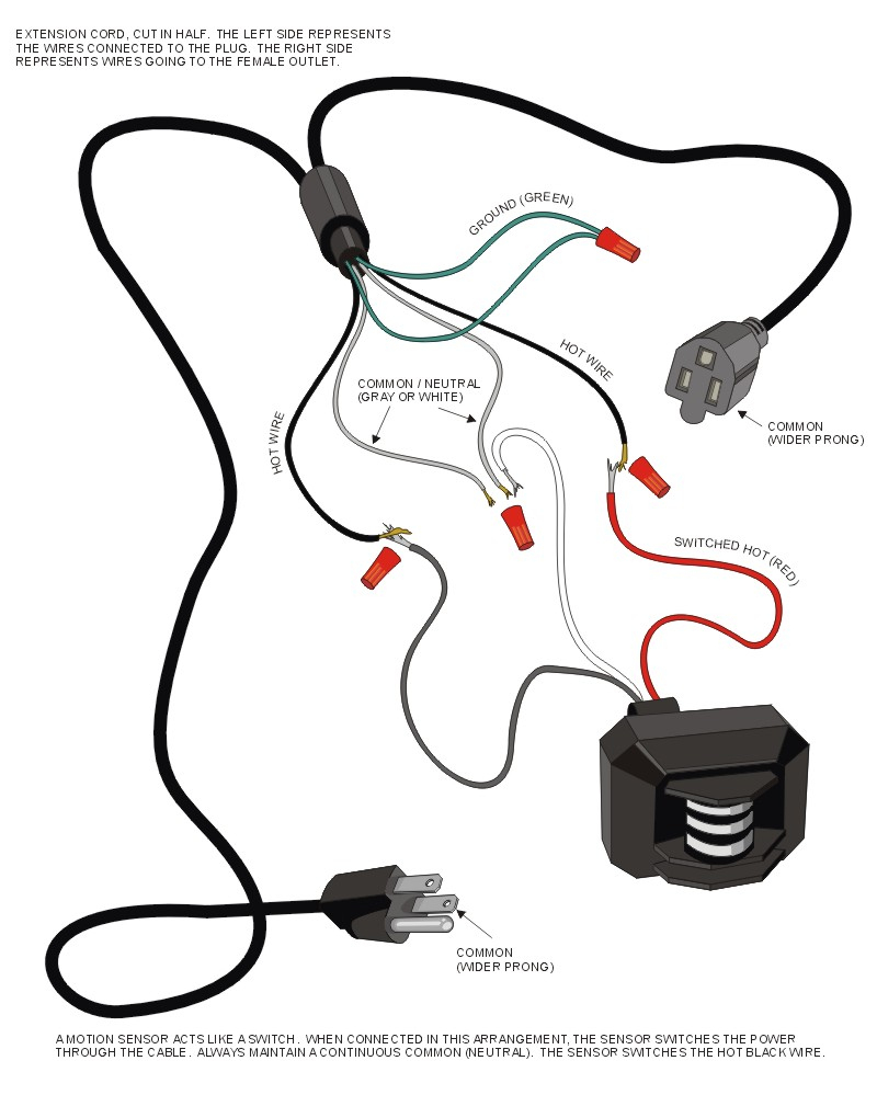 Driveway Sensor Wiring Diagram For Lights | Wiring Diagram - Motion Sensor Light Wiring Diagram