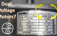 Dual Voltage Motors, How They Work, And Wiring Them Without The Wire   Electric Motor Wiring Diagram 220 To 110