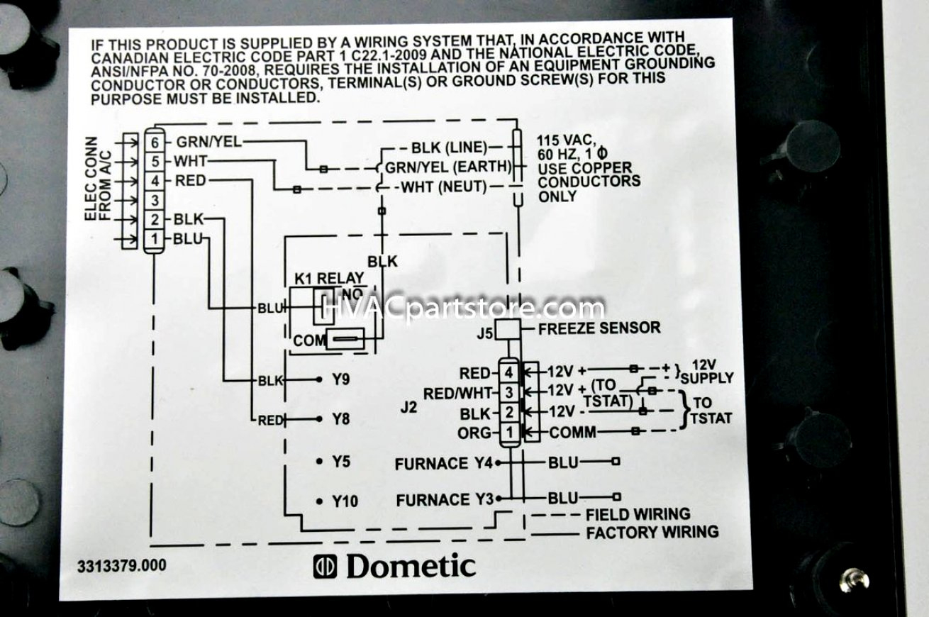 Duo Therm Rv Furnace Thermostat Wiring Diagram Ac | Wiring Diagram - Duo Therm Thermostat Wiring Diagram