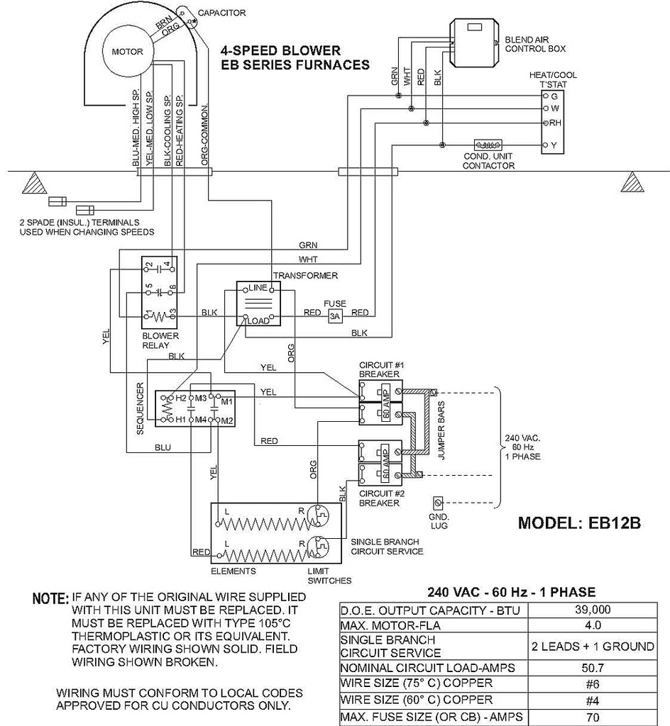 Eb15B Instalation Instructions Coleman, Air Handler, Eb15B… | Flickr - Air Handler Fan Relay Wiring Diagram