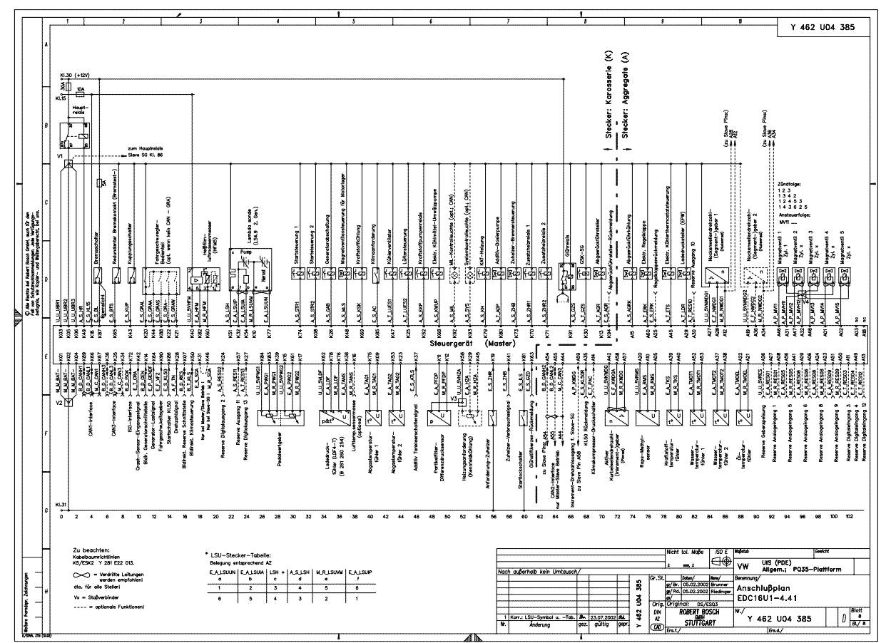 Ecu Circuit Diagram For Bosch (Ecu Schematic) - Autodtc - Ecm Wiring Diagram