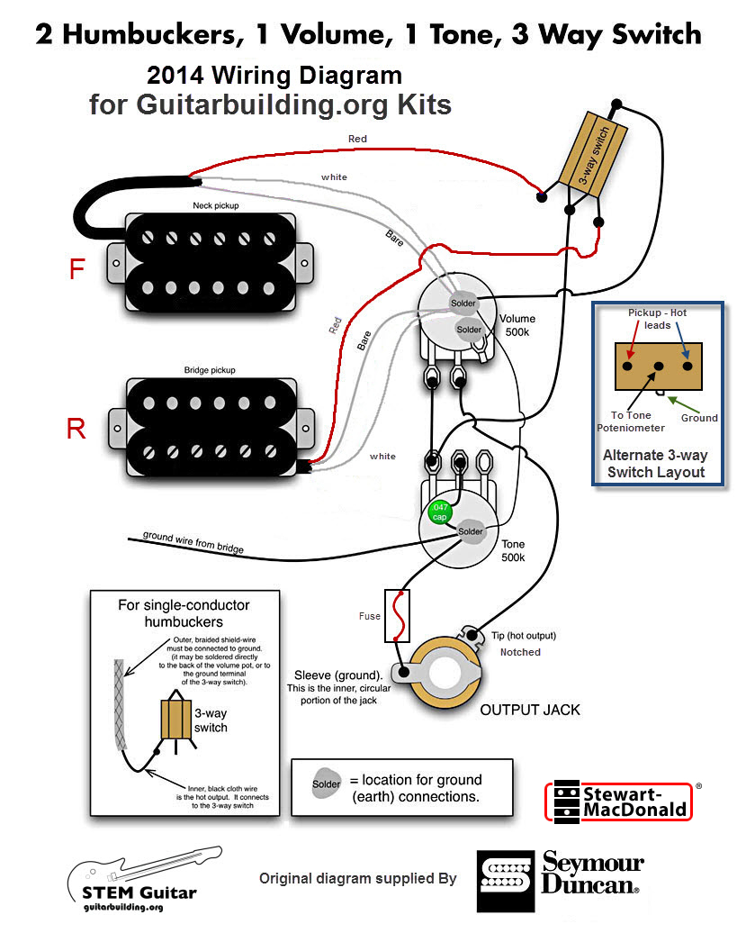 Electra Guitar Wiring Diagram | Manual E-Books - Electric Guitar Wiring Diagram