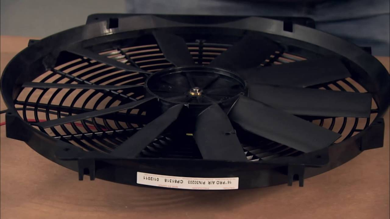 Electric Cooling Fans — Tech Tips - Youtube - Vintage Air Wiring Diagram
