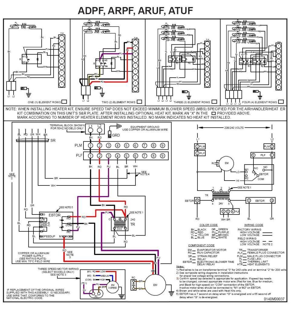 Electric Furnace Wiring Diagram - Data Wiring Diagram Blog - Goodman Furnace Wiring Diagram
