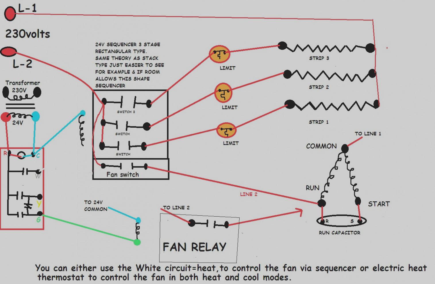 Electric Heat Strips Wiring Diagram | Wiring Diagram - Electric Heat Strip Wiring Diagram