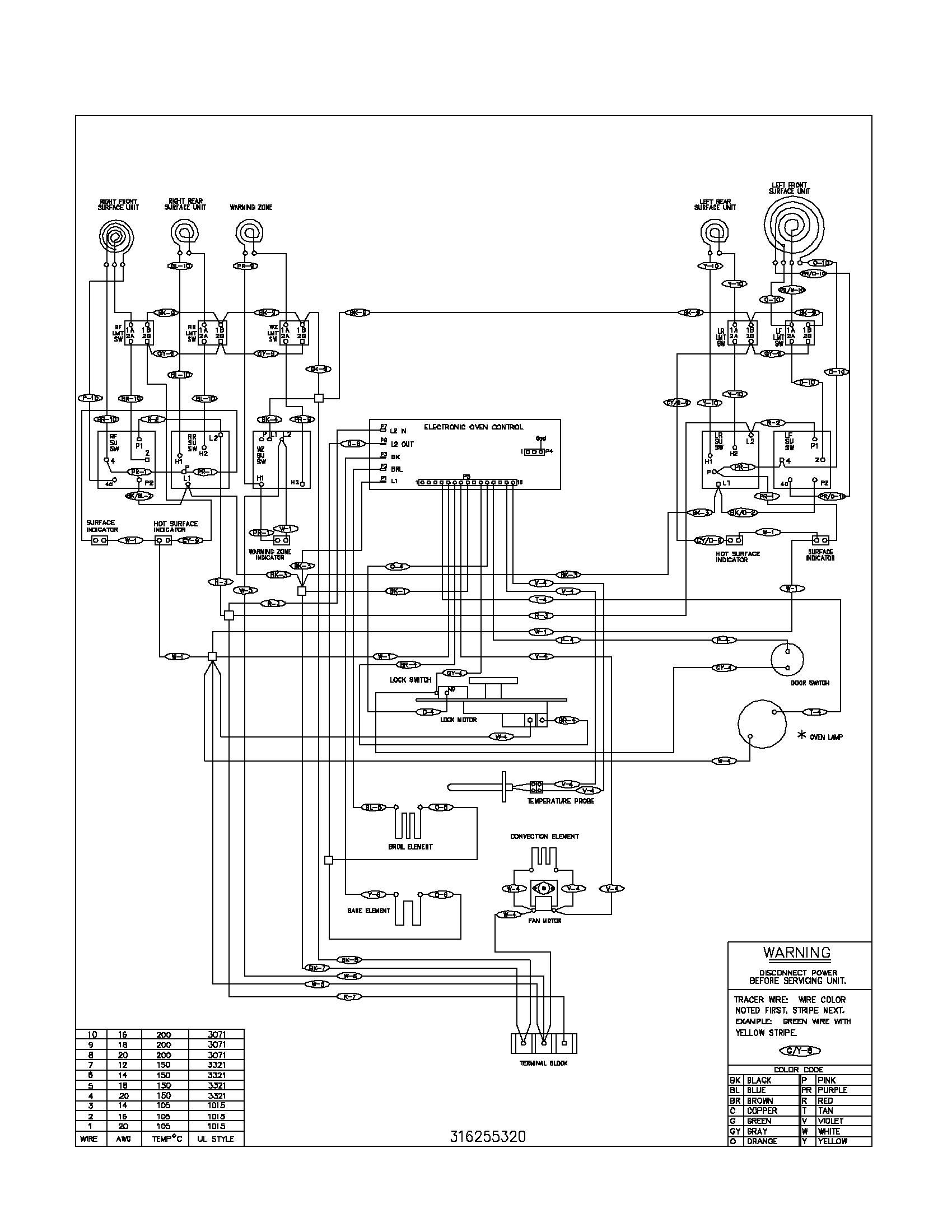 Electric Stove Schematic Wiring Diagram | Wiring Diagram - Electric Stove Wiring Diagram