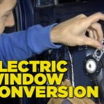 Electric Window Conversion   Youtube   Power Window Wiring Diagram