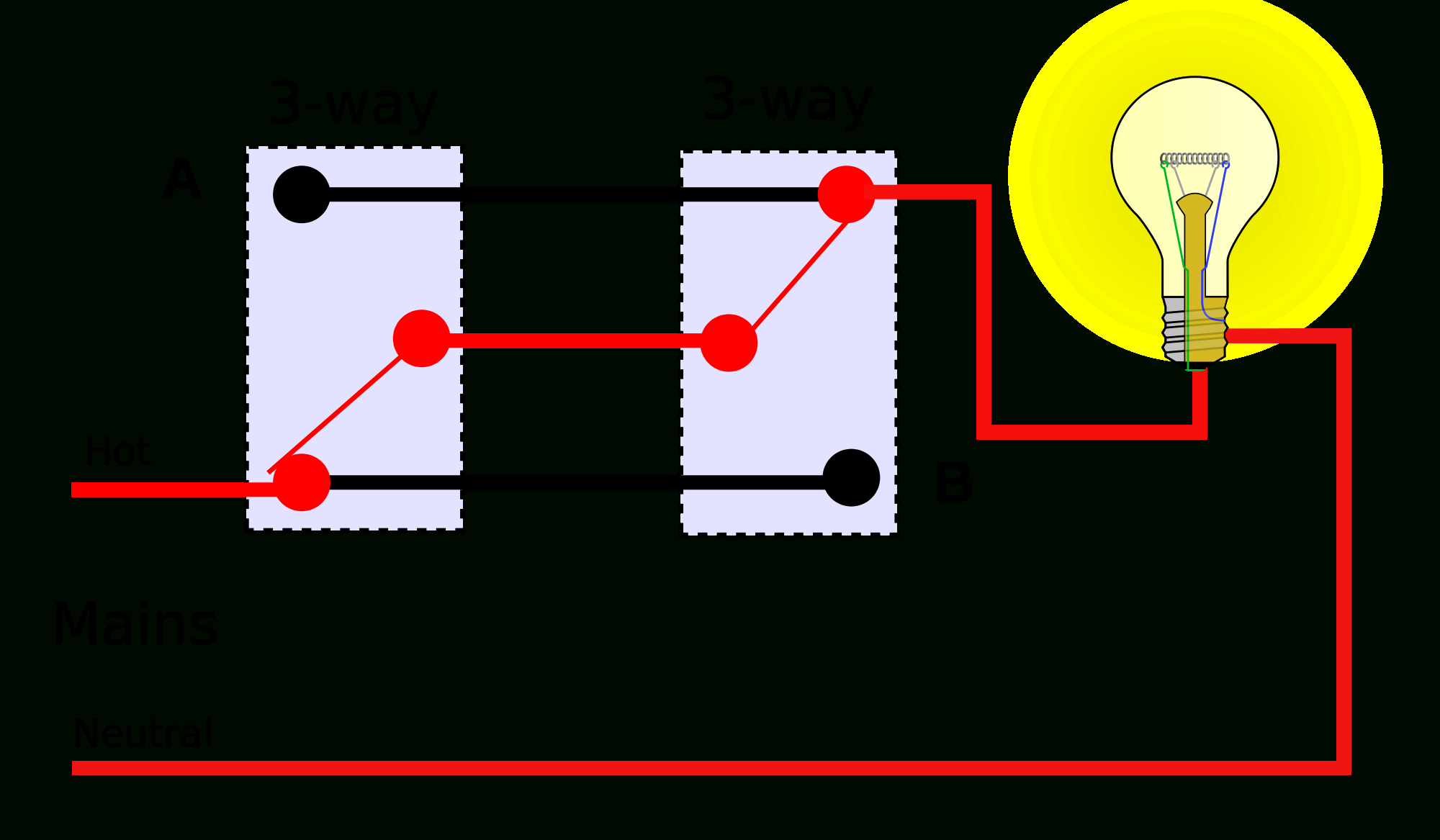 Electrical - Coast 3-Way -- Does This Conform With Code? - Home - 3 Way Lamp Switch Wiring Diagram