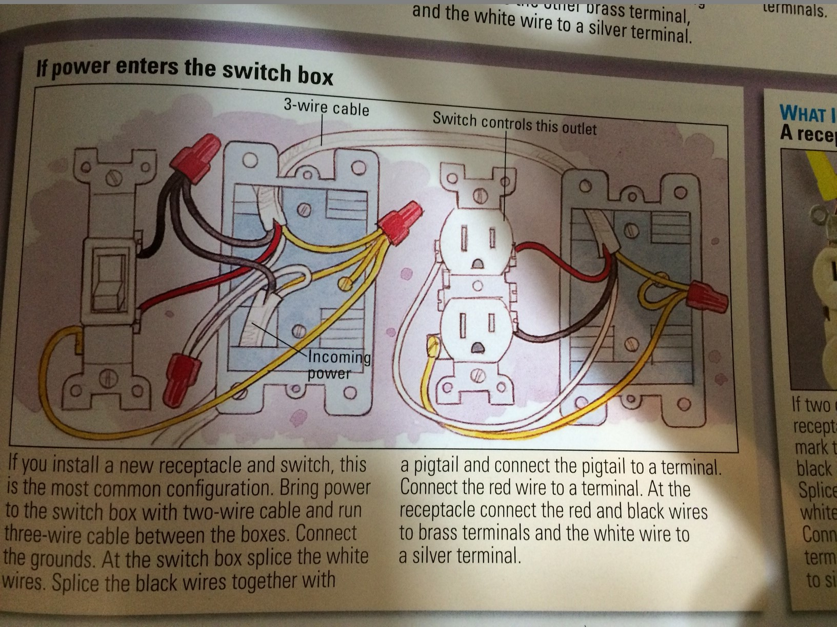 Electrical - How Should I Wire 2 Switches That Control 1 Light And 1 - Wiring A Switched Outlet Wiring Diagram – Power To Receptacle