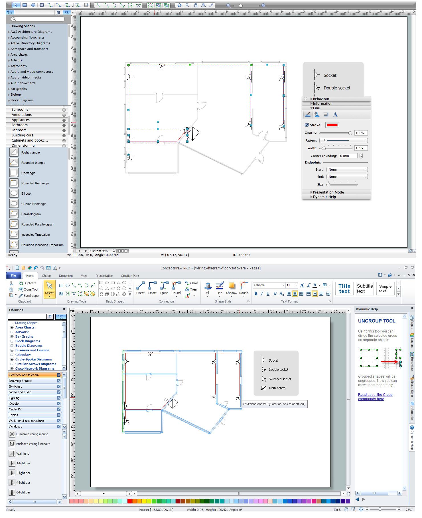 Electrical Plan Maker | Wiring Diagram - Wiring Diagram Software