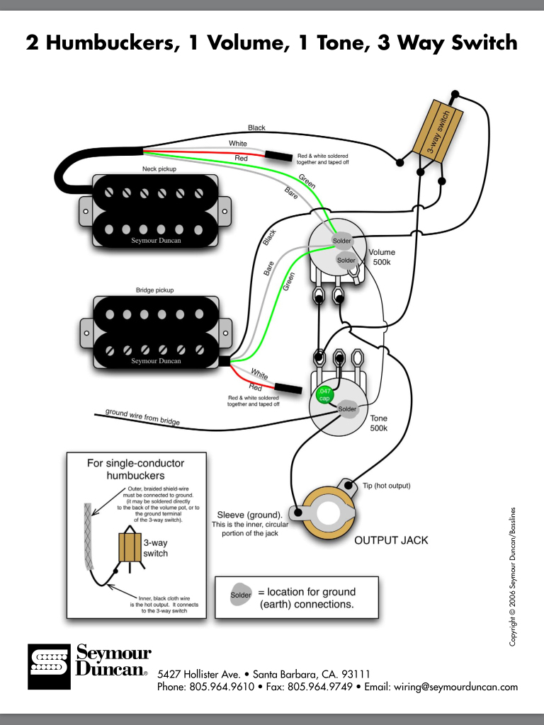 Emg Hz Installation Question 20 5 | Hastalavista - Emg Wiring Diagram