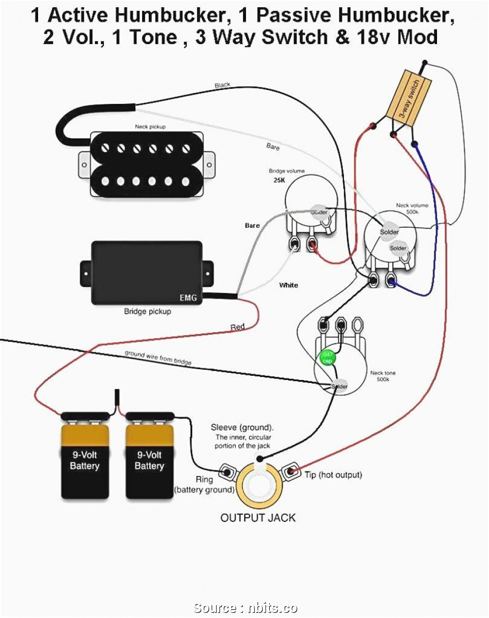Emg P Bass Wiring Diagram - Free Wiring Diagram For You • - Bass Guitar Wiring Diagram