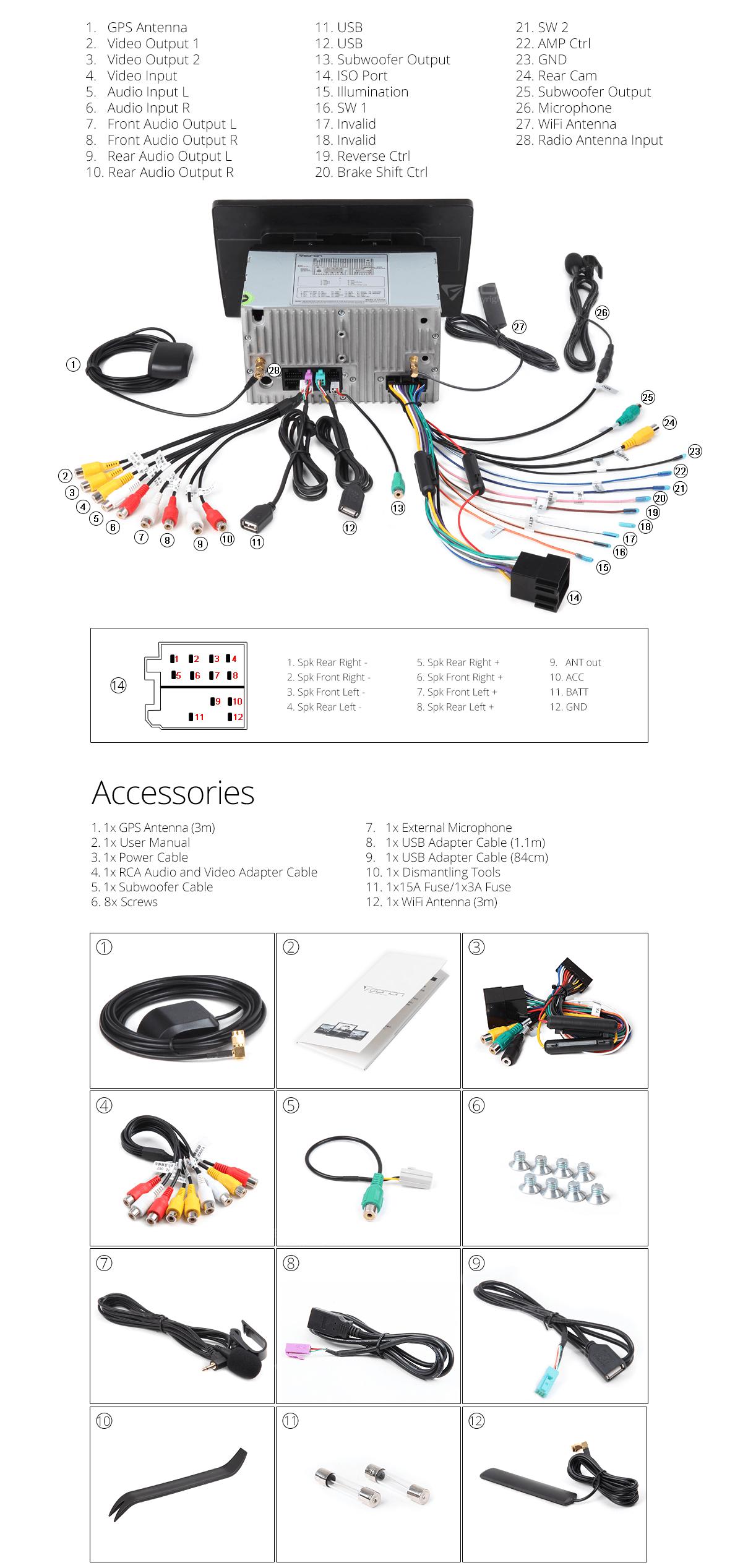 Eonon Wiring Schematic | Manual E-Books - Eonon Wiring Diagram