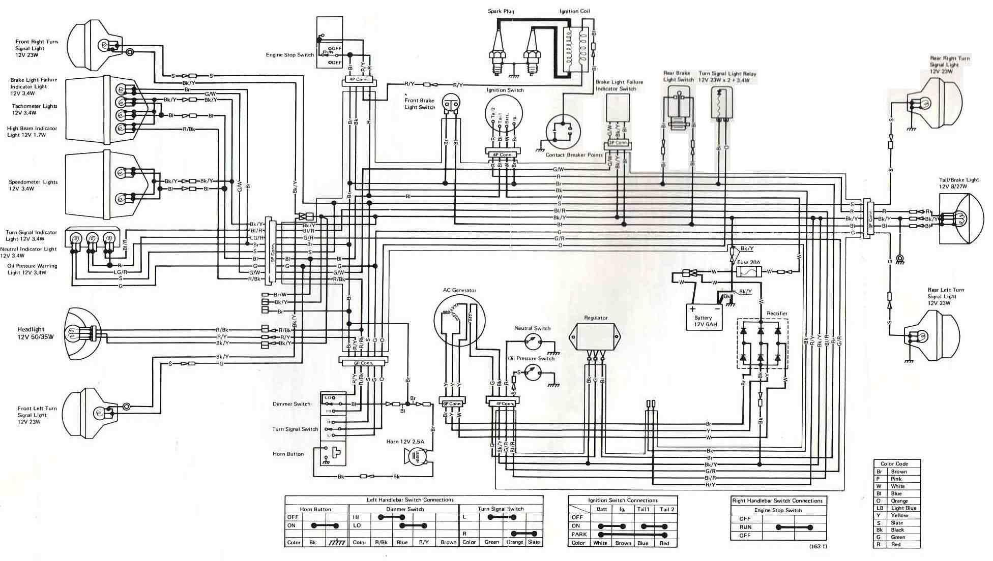 Ex 500 Wiring   Wiring Diagram - Pocket Bike Wiring Diagram