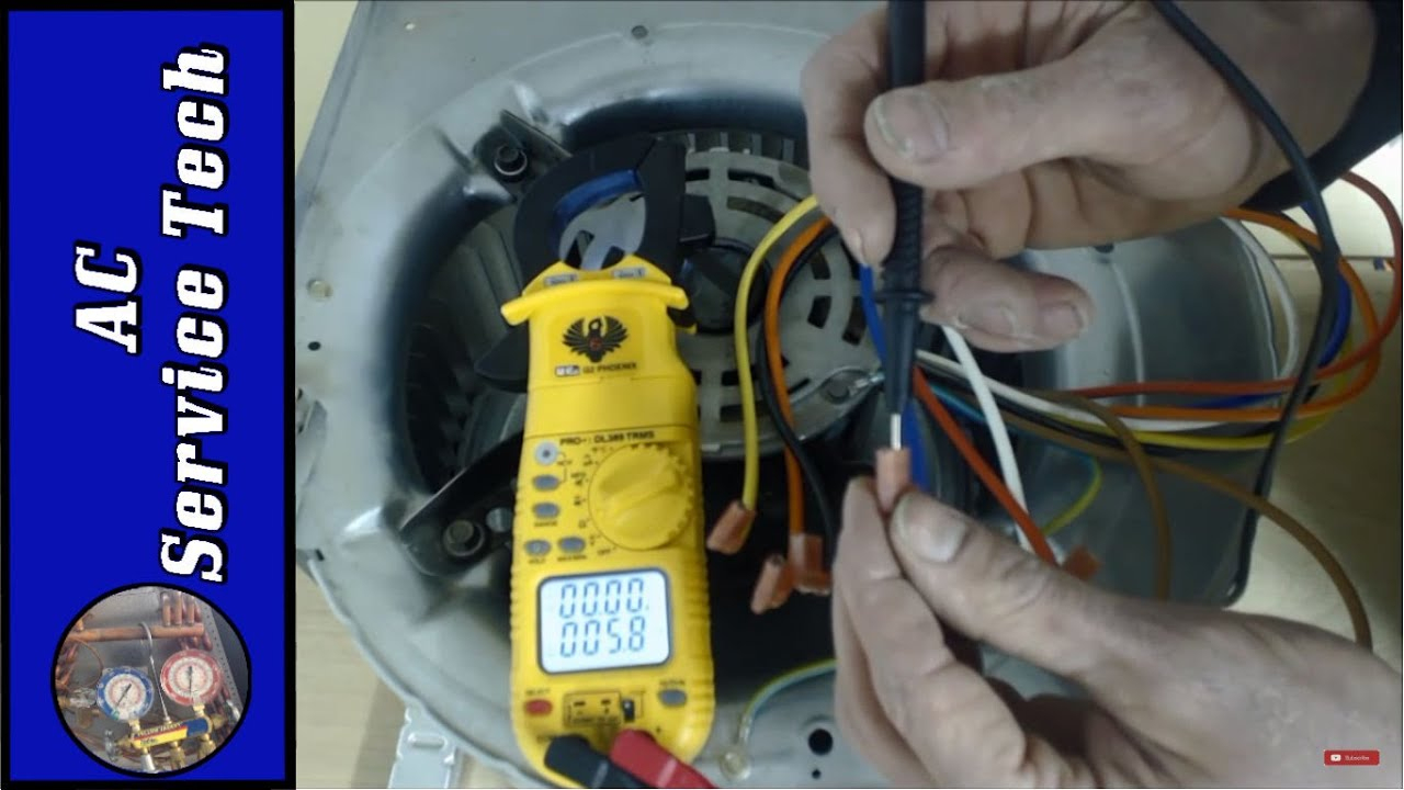 Explained! Hvac Furnace Blower Motor Wire Color Speeds: Color Code - Single Phase Marathon Motor Wiring Diagram