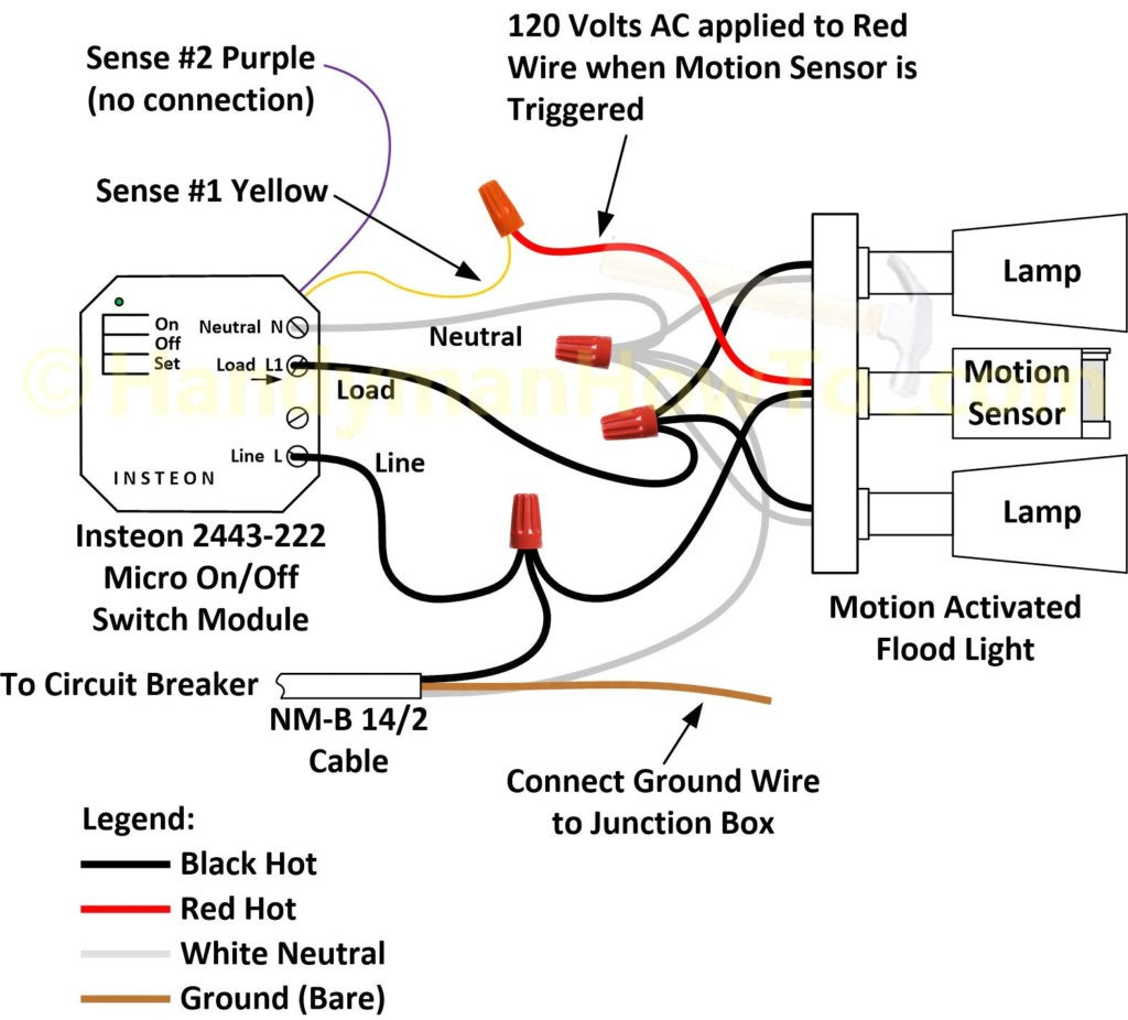 Exterior Light Wiring 380 Djfcs On Flood Diagram | Philteg.in - Flood Light Wiring Diagram